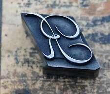 R  Initial Bleibuchstabe Stempel Siegel Buchstabenstempel Buchstabe Bleiletter