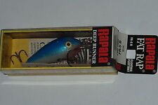 Rapala FR 5 B Blue on Foil Fat Rap Old Stock Bass Fishing Lure
