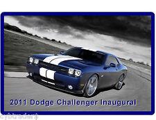 2011 Dodge Challenger Inaugural Refrigerator /  Tool Box  Magnet