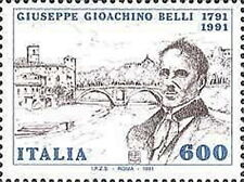 1991 ITALIA GIOACCHINO BELLI MNH ** - ED