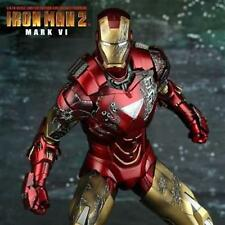 HOTTOYS HOT TOYS IRONMAN IRON MAN 2 MARK VI 1/6 MMS 132 MMS132 FIGURE EV AQ1253
