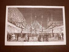 Il Carnevale di Roma nel 1877 Festa dei vini allo Sferisterio Marsala Lazio