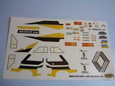 Calca 1/24  Renault 5 Maxi-Turbo - Costa Brava 1986