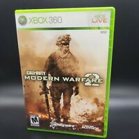 XBOX 360 Call of Duty Modern Warfare 2 Complete TESTED 100% *FREE SHIPPING*