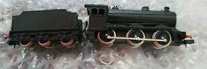 Union Mills N Scale black loco