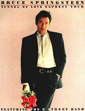 BRUCE SPRINGSTEEN 1988 TUNNEL OF LOVE EXPRESS TOUR PROGRAM BOOK / NMT 2 MINT
