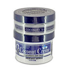 HOLLYWOOD BEAUTY COCONUT HAIR CREME 7.5OZ CHOLESTEROL 4OZ DEEP CONDITIONER SET
