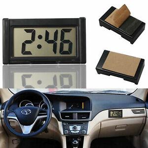 Ultra-thin LCD Digital Display Vehicle Car Dashboard Clock with Calendar Cool UK
