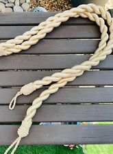 """A Pair Of Gold Rope Curtain Tie Backs 32"""" Long"""