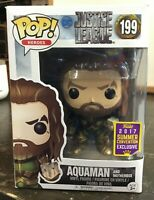 Funko Pop! Aquaman #199 Justice League DC 2017 Summer Convention Exclusive