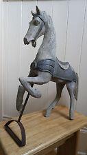 Cavallo di Legno, francese shabby chic-BELLISSIMO REGALO