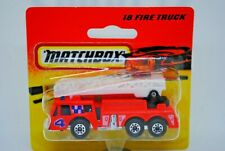 Matchbox SuperFast no: 18 FIRE ENGINE Truck with Working LADDER MOC