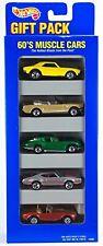 "Hot Wheels (1995) 60's Muscle Cars (5) Car Gift Set ""New"" NIP"