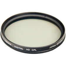 Bower 58mm Circular Polarizer Filter for Canon T6i T6 T5i T5 T4i T3i T3 T2i XSi
