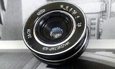 RARE INDUSTAR-69 f 28mm 1:2.8 M39 Pancake Lens Nice Soviet USSR Macro