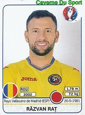 051 RAZVAN RAT ROMANIA RAYO VALLECANO STICKER EURO 2016 PANINI