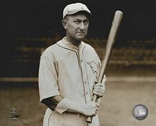 TY COBB 8X10 PHOTO DETROIT TIGERS BASEBALL MLB PICTURE WITH BAT COOPERSTOWN COLL