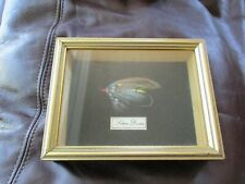Silver Doctor - Hardy Bros Pall Mall London - Salmon Fly in Shadow Box