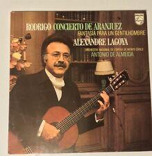 RODRIGO - CONCIERTO DE ARANJUEZ - ALEXANDRE LAGOYA - ANTONIO DE ALMEIDA