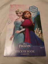 Disney Frozen Sticker Book 4 Sheets 300 Stickers Style 8801Fz Elsa Anna Olaf