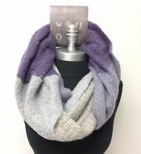 Women's Winter Circle Knit Infinity Scarf Soft Wrap Lavender Purple High quality