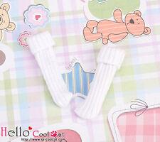☆╮Cool Cat╭☆【KR-8】Blythe/Pullip(1/6 Doll)Bobby Socks # White