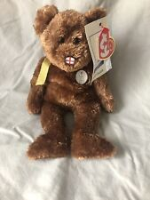 TY BEANIE BABIES 2002  WORLD CUP - CHAMPION - ENGLAND BEAR - IMMACULATE