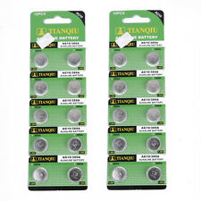 20 PCS AG10 / 389A / LR1130 / LR54 Alkaline Button Cell Watch Toy Battery 1.5V