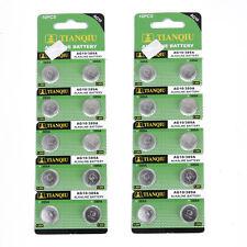 20 PCS AG10 / 389A / LR1130 / LR54 Alkaline Button Cell Watch Battery 1.5V