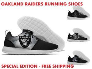 LAS VEGAS OAKLAND RAIDERS Men's Women's Lightweight Shoes Sneakers Football