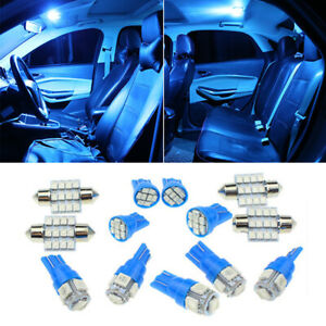 13x Car Interior LED Lights Bulb For Dome License Plate Lamp Kit 12V Accessories