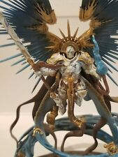Warhammer AOS Stormcast Eternals Celestant-Prime on a  Pro-Painted Standard!