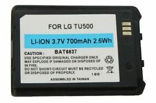 Mobile Phone Battery Telstra LG TU500, TU550 Black    700mAh