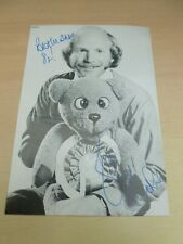 More details for roger de courcey & nookie bear  original vintage signed photograph ventriloquist