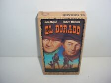El Dorado John Wayne Robert Mitchum Western VHS Video Tape Movie