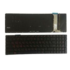 Russian Keyboard For ASUS GL752V GL752VL GL752VW GL752VWM backlit RU laptop