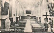 London - Mill Hill - Church of Sacred Heart & Mary Immaculate - postcard c.1910s