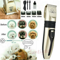 Low Noise Rechargeable Cat Dog Hair Trimmer Pet Clipper Cutter Grooming Machine
