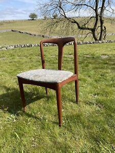 Uldum Julianne Teak Dining Chair Danish 1980's