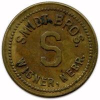 Smidt Bros. Wisner, Nebraska NE 5¢ Trade Token