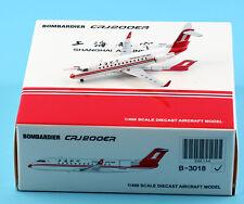 JC Wings 1:400 Shanghai Airlines Bombardier CRJ-200ER Diecast Plane Model B-3018