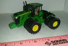 1/64 ERTL custom John deere 9620r 4wd tractor trelleborg duals rock box farm toy