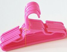 10 Pink Plastic Doll Hangers Fits 18 Inch American Girl Doll Clothes