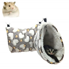 Elepure Hanging Tunnel Hammock for Hamster Small Animals, Sugar Glider Cage Toys