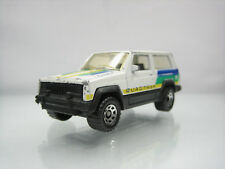 Diecast Matchbox Jeep Cherokee Chief 1986 White Good Condition