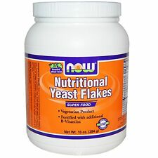 NOW FOODS NUTRITIONAL YEAST FLAKES BREWERS CANDIDA FORMULAS HEALTH 10oz 284g