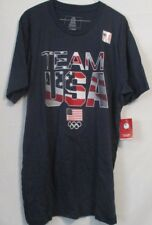 Team USA Olympic Performance Style Short Sleeve T-Shirt Navy Size Large.