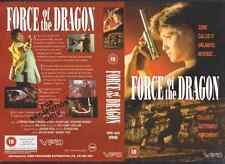 Force Of The Dragon, VPD VHS Video Promo Sample Sleeve/Cover #8818