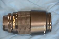 NIKON NIKKOR 70-300mm f/4.0-5.6 D AF ED ZOOM LENS, HOOD, EXCELLENT CONDITION!