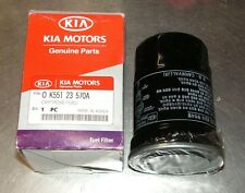 Kia Carnival 2.9L Fuel Filter Cartridge Part Number 0K551 23570A Genuine Kia
